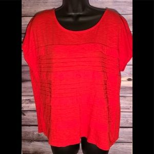 Liz Claiborne Red blouse